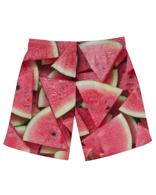 Watermelon Sliced Athletic Shorts