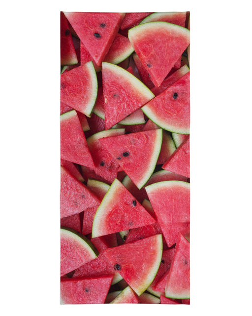 Watermelon Sliced printed all over in HD on premium fabric. Handmade in California.