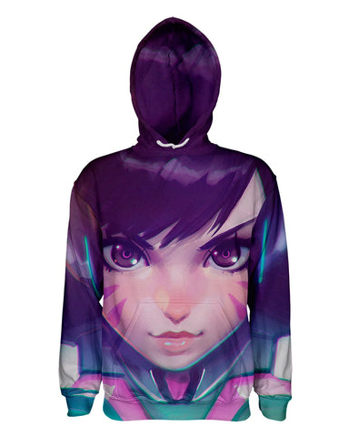 DVa printed all over in HD on premium fabric. Handmade in California.