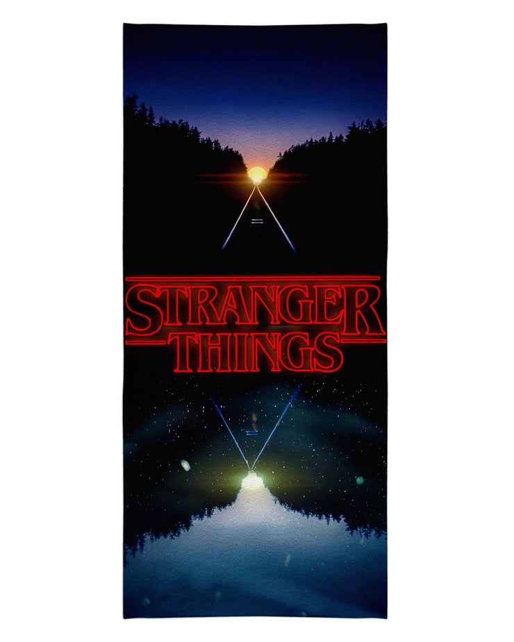Stranger Things Beach Towel