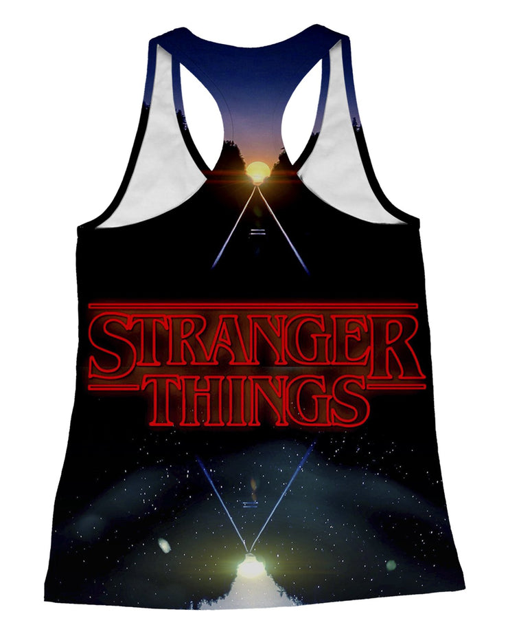 Stranger Things Racerback-Tank