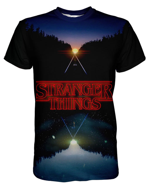 Stranger Things printed all over in HD on premium fabric. Handmade in California.
