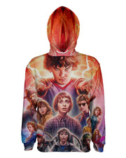Stranger Things Faces Pullover Hoodie