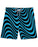 Wavy Lines Blue printed all over in HD on premium fabric. Handmade in California.
