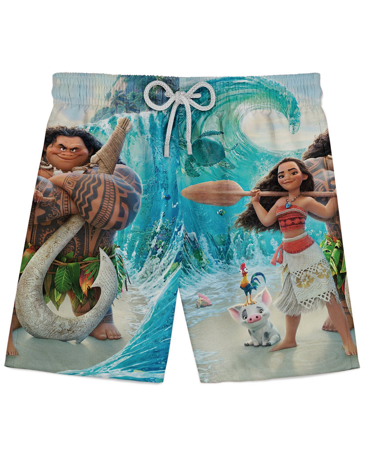Moana Ocean Athletic Shorts