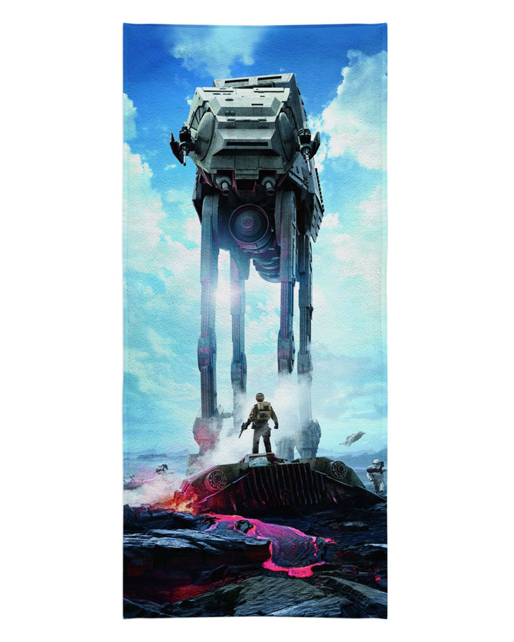 Star Wars Battlefront Walker Beach Towel