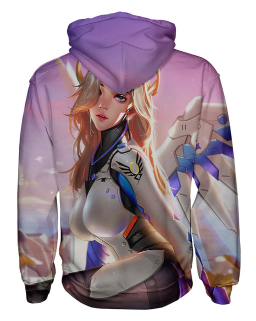 Overwatch Mercy Pullover Hoodie