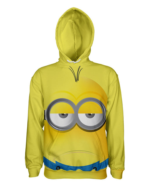 Minions printed all over in HD on premium fabric. Handmade in California.