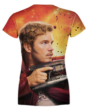 Star Lord Chris Pratt Women's T-shirt