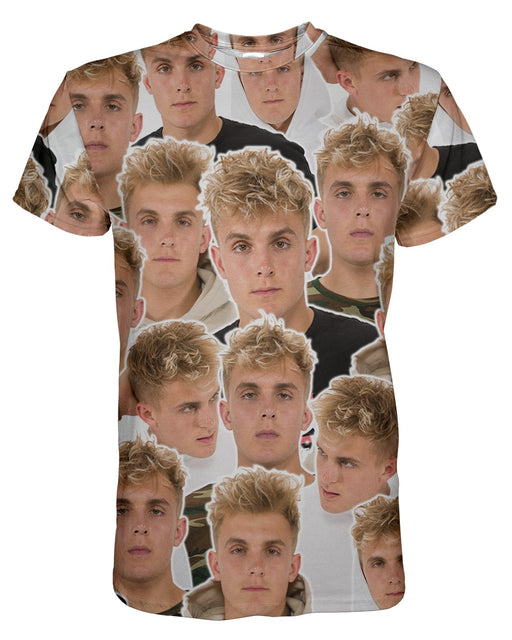Jake Paul printed all over in HD on premium fabric. Handmade in California.