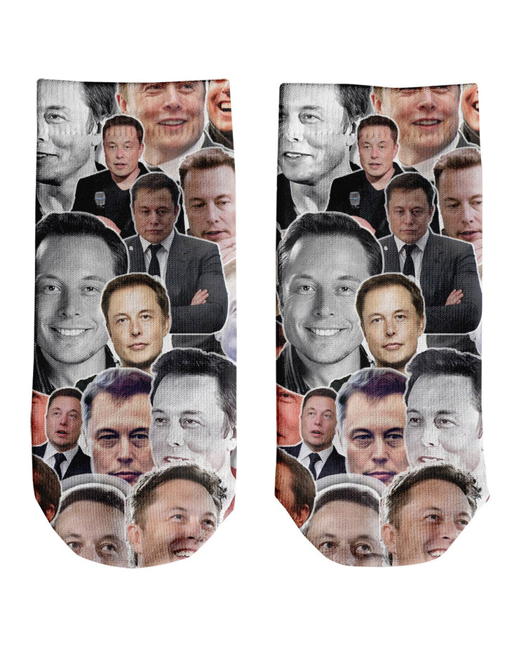 Elon Musk Ankle Socks