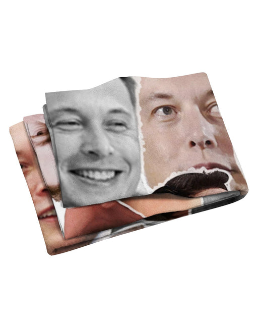 Elon Musk Beach Towel