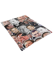 Elon Musk Fluffy Micro Fleece Throw Blanket
