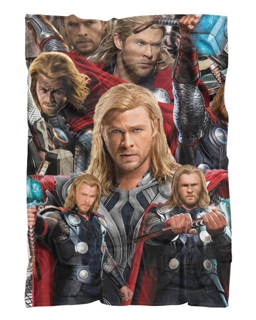 Thor Odinson printed all over in HD on premium fabric. Handmade in California.
