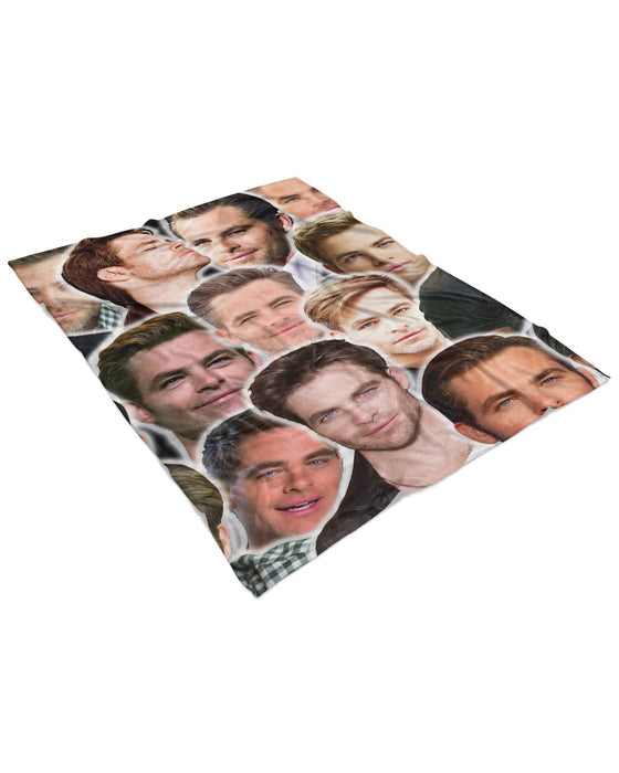 Chris Pine Fluffy Blanket