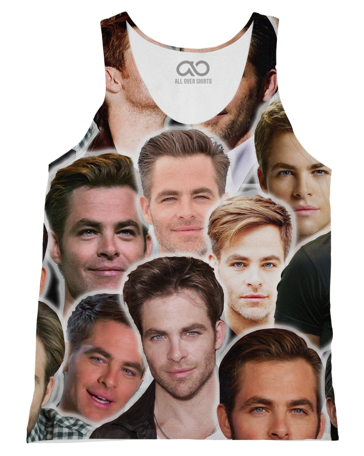 Chris Pine Tank-Top