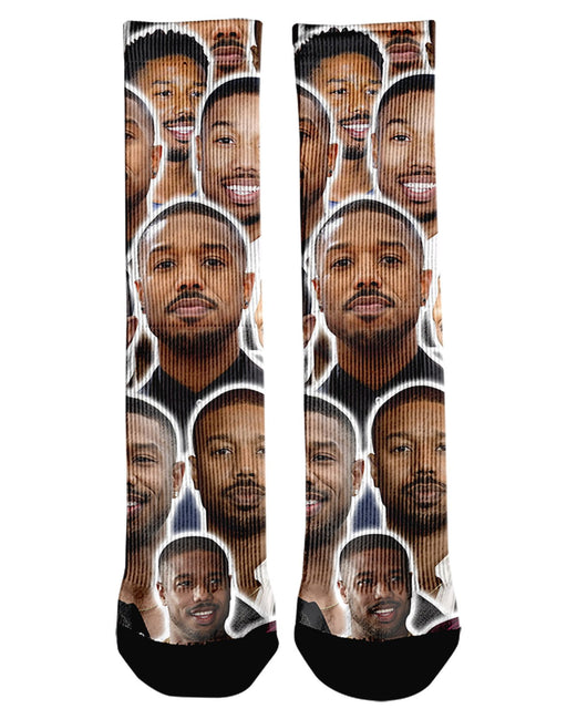 Michael B Jordan printed all over in HD on premium fabric. Handmade in California.