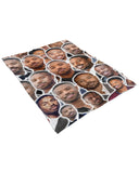 Michael B Jordan Fluffy Microfleece Throw Blanket