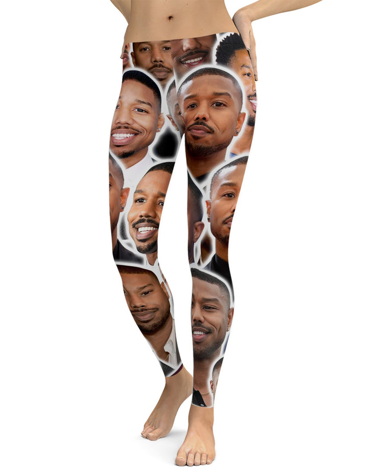 Michael B Jordan Leggings