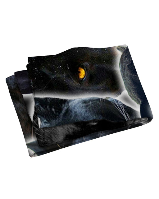 Black Panther Animal Beach Towel