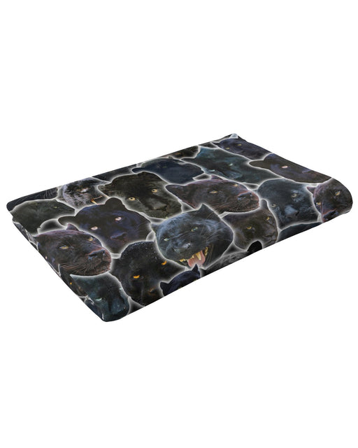 Black Panther Animal Fluffy Blanket
