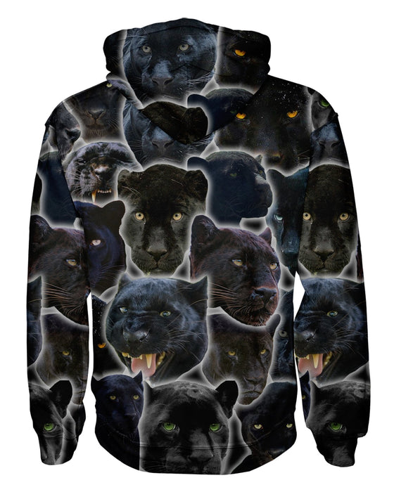 Black Panther Animal Pullover Hoodie