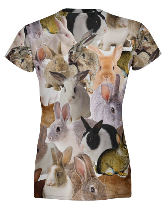 Chubby Rabbits Women's T-shirt