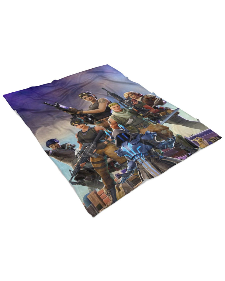 Fortnite Fluffy Micro Fleece Throw Blanket