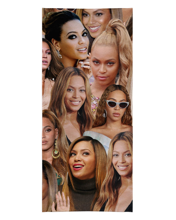 Beyonce Beach Towel