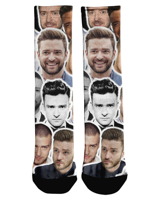 Justin Timberlake printed all over in HD on premium fabric. Handmade in California.