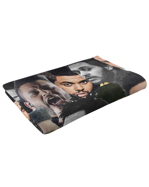 The Weeknd Fluffy Blanket