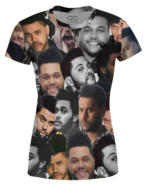 The Weeknd printed all over in HD on premium fabric. Handmade in California.