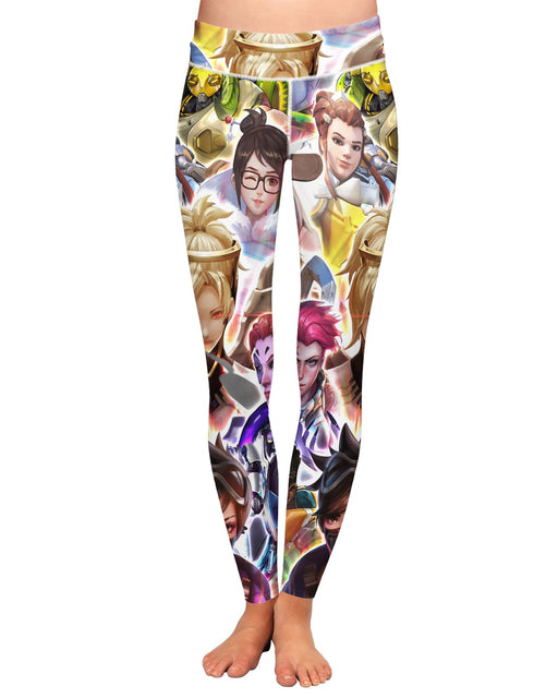Overwatch Characters Yoga Leggings