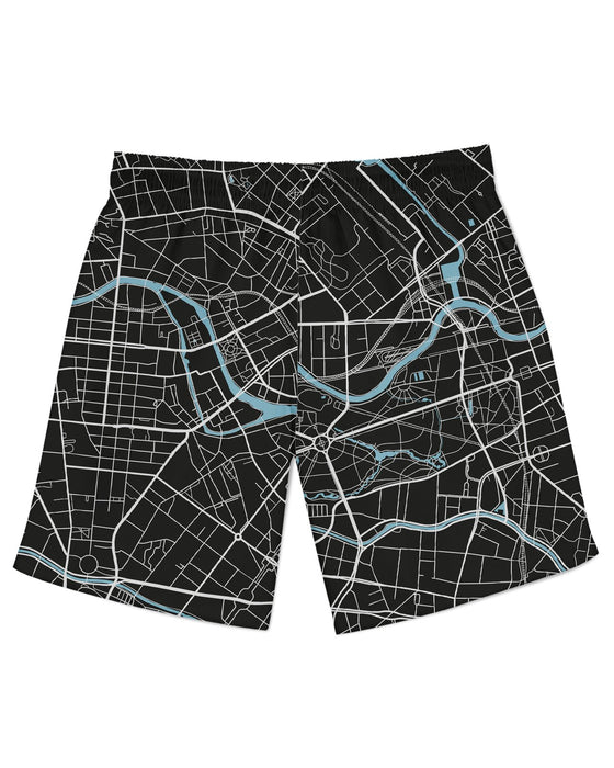 Berlin Map Athletic Shorts