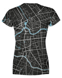 Berlin Map Womens T-shirt