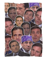 Michael Scott Fluffy Blanket