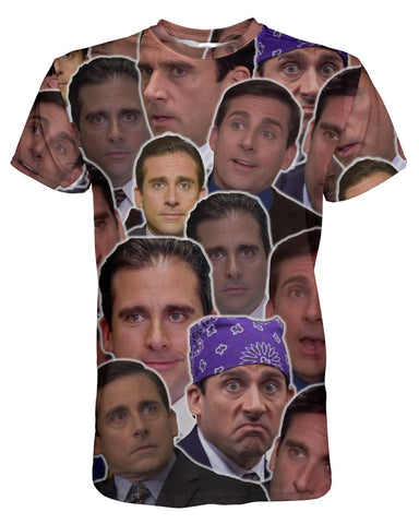 Michael Scott printed all over in HD on premium fabric. Handmade in California.