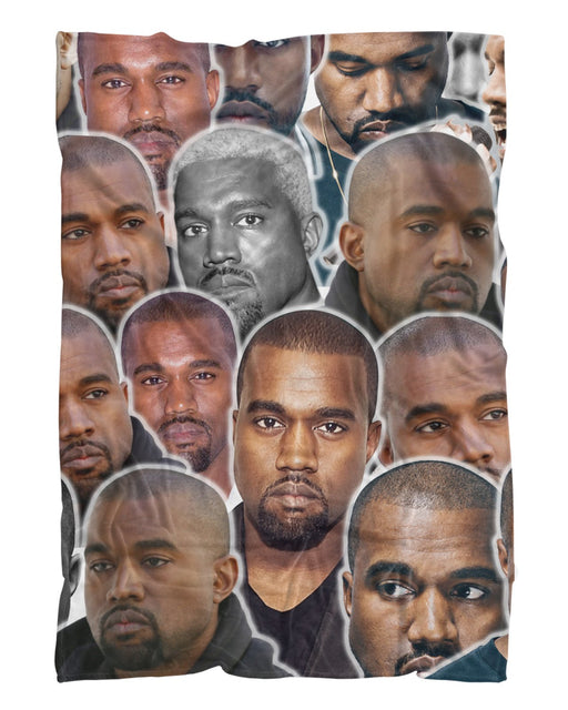 Kanye West printed all over in HD on premium fabric. Handmade in California.