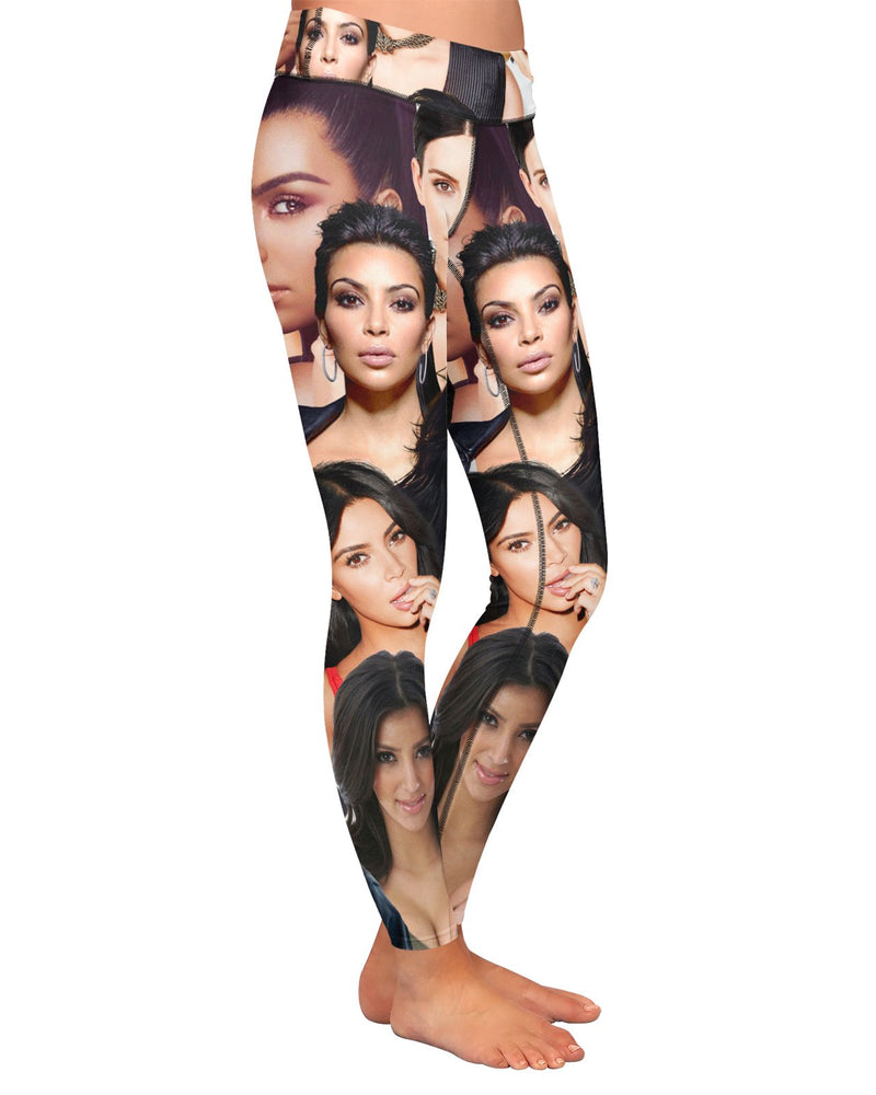 Kim Kardashian Yoga Leggings