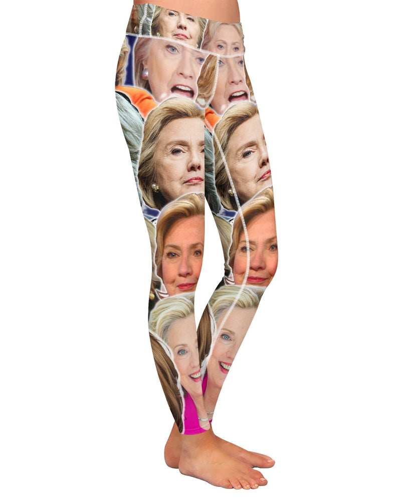 Hillary Clinton Yoga Leggings