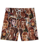 Brigitte Athletic Shorts