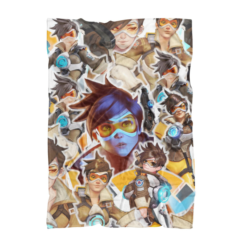 Tracer Fluffy Micro Fleece Throw Blanket