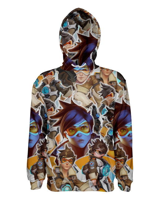 Tracer printed all over in HD on premium fabric. Handmade in California.