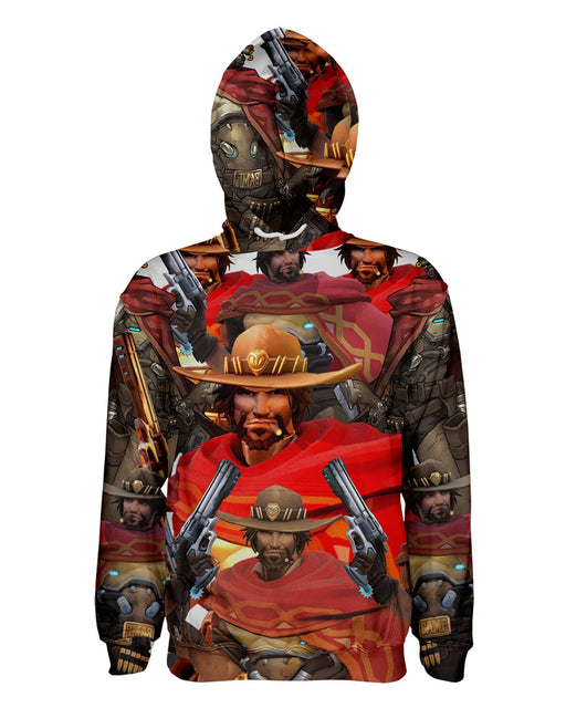 Mc Cree printed all over in HD on premium fabric. Handmade in California.