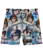 Mei Overwatch Athletic Shorts