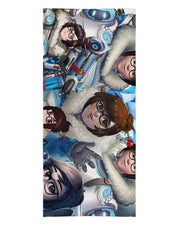 Mei Overwatch Beach Towel