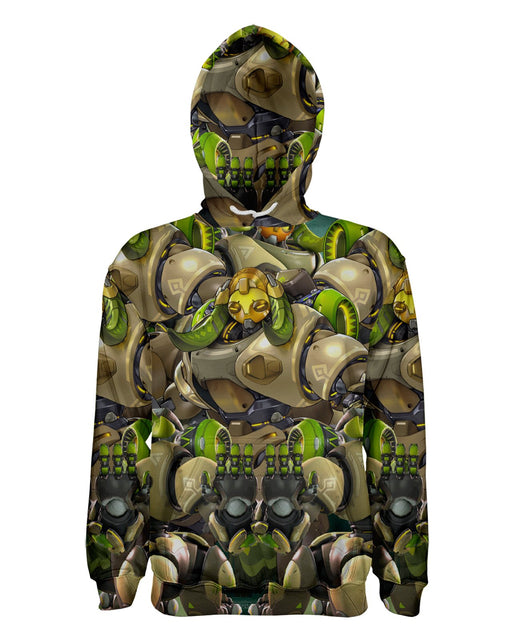 Orisa Overwatch printed all over in HD on premium fabric. Handmade in California.