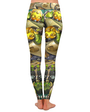 Orisa Overwatch Yoga Leggings