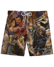 Hanzo Overwatch Athletic Shorts