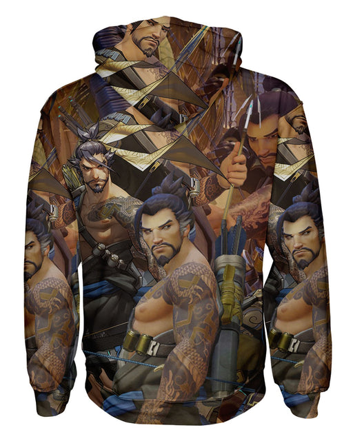 Hanzo Overwatch Pullover Hoodie